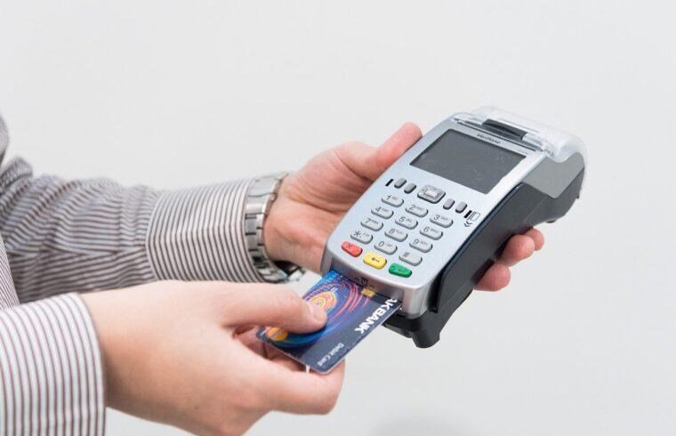 máquina de cartão